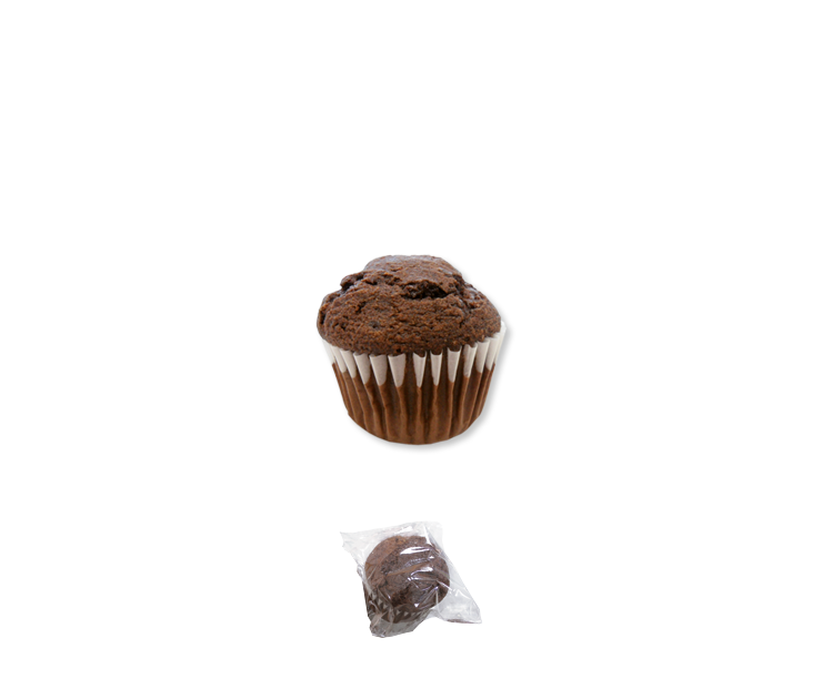 02235 Muffin Doble Choco 24 ud