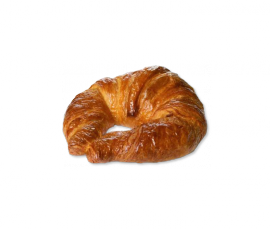 0252 Butter Curved Croissant 70 grs