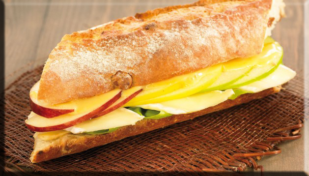 Bocadillo Natural con Frutas