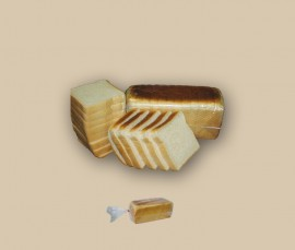00136 Pain de Mie 800 grs 14 Tranche Toasts