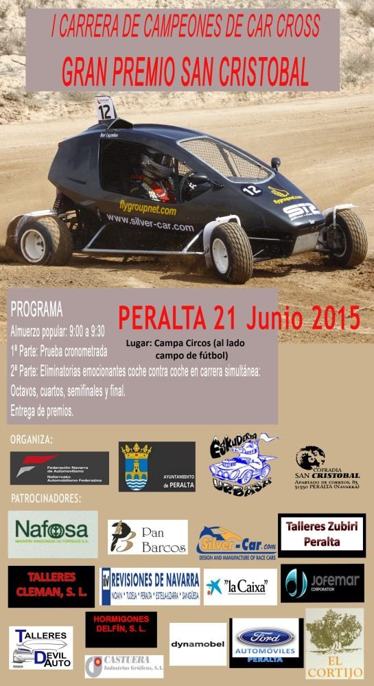 "1ª CARRERA CAR CROSS ""SAN CRISTOBAL"" EN PERALTA"
