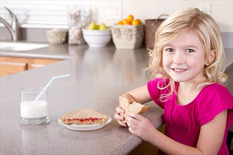 Bread is essential to prevent children's obseity