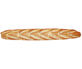 01027 Bread Spike with Seeds